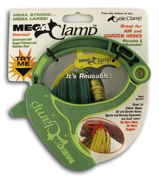 Cable Clamp Mega Clamp Green - 12 x 1 clamp