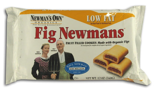 Newman's Own Fig Newmans Low Fat - 10 ozs.