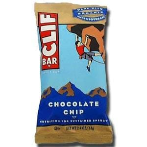 Clif Bar Chocolate Chip Bar - 12 x 2.4 ozs.