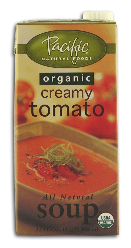 Pacific Foods Creamy Tomato Soup Organic - 12 x 32 ozs.