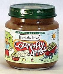 Healthy Times Country Apples Organic - 3 x 4 ozs.