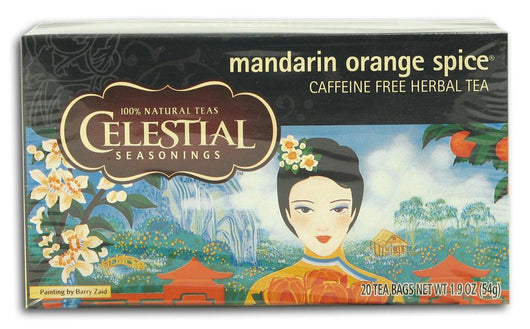 Celestial Seasonings Mandarin Orange Spice Tea - 6 x 1 box