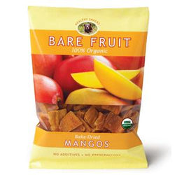 Bare Fruit Mango, Dried, Organic - 2.2 ozs.