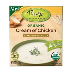 Pacific Foods Cream of Chicken Soup Condensed Organic - 12 ozs.