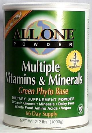 All-One Green Phyto Multi-Vitamin & Mineral - 2.2 lbs.