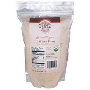 Granite Mill Farms Hard Red Wheat Flour, Sprouted, Organic - 5 lbs.