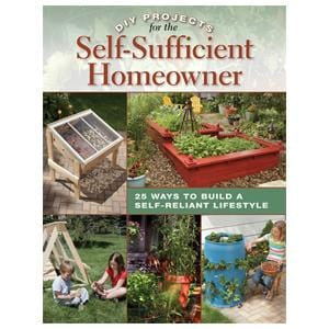 Books DIY Projects for the Self-Sufficient Homeowner - 1 Book