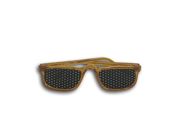 Natural Eyes Pinhole GlassesAdultAuburnReaders - 1 pair