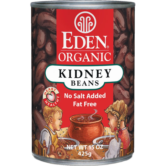 Eden Foods Kidney (dark red) Beans Organic - 15 ozs.