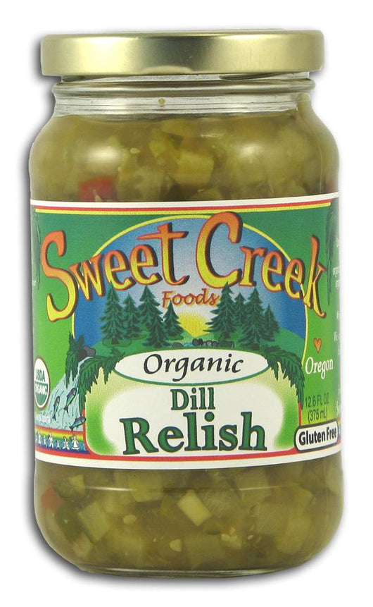 Sweet Creek Foods Dill Pickle Relish Organic - 12 x 12.6 ozs.