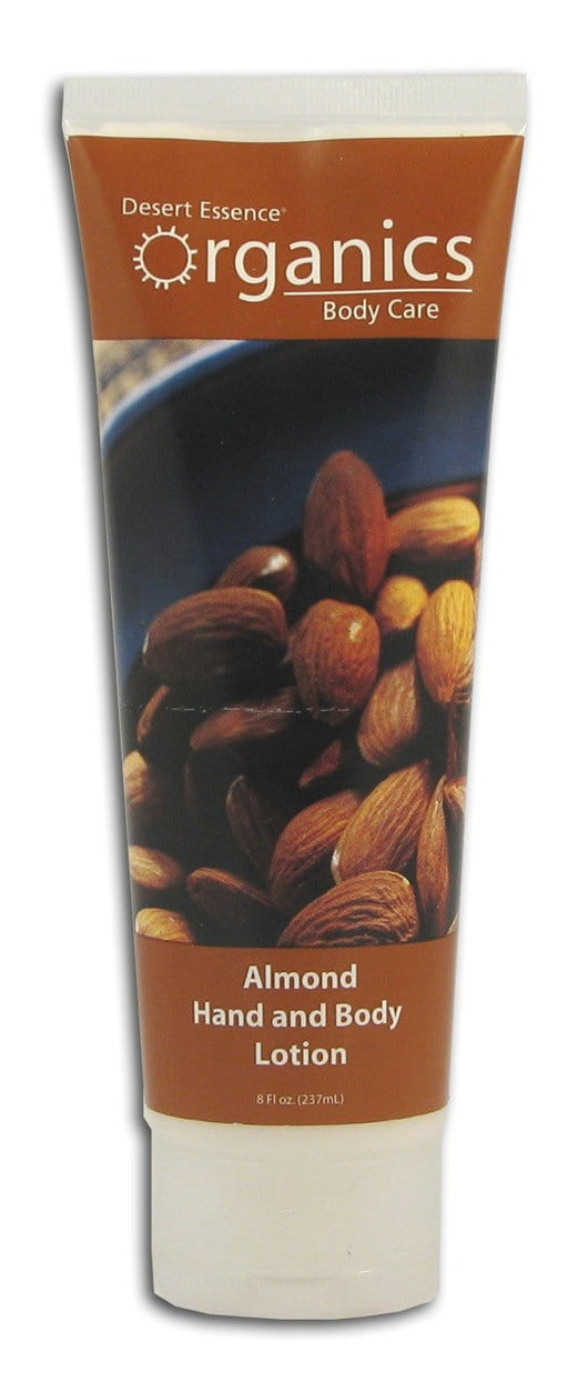 Desert Essence Almond Hand & Body Lotion Organic - 8 ozs.