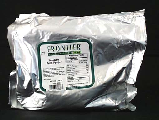Frontier Vegetable Flavored Broth - 1 lb.