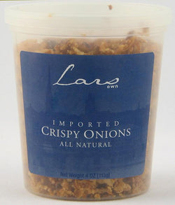 Lars' Own Crispy Onions All Natural - 4 ozs.
