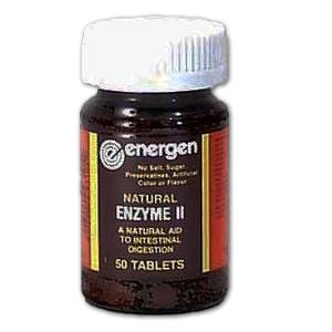 Energen Digestive Enzyme II (Intestine) - 50 tablets