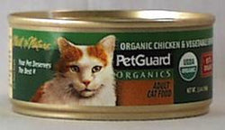 PetGuard Cat Food Chicken & Vegetable Entree - 5.5 ozs.