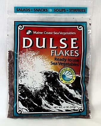 Maine Coast Dulse - Flakes Organic - 4 ozs.