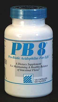 Nutrition Now PB 8 Acidophilus - 120 caps