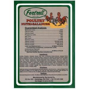 Fertrell Poultry Nutri-Balancer, Regular - 10 lbs.