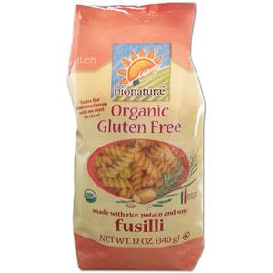 Bionaturae Fusilli Rice Potato & Soy GF Organic - 12 x 12 ozs.