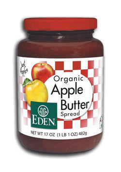 Eden Foods Apple Butter Organic - 12 x 18 ozs.