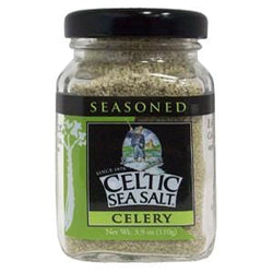 Celtic Sea Salt Salt, Seasoned, Celery  - 12 x 3.9 ozs.