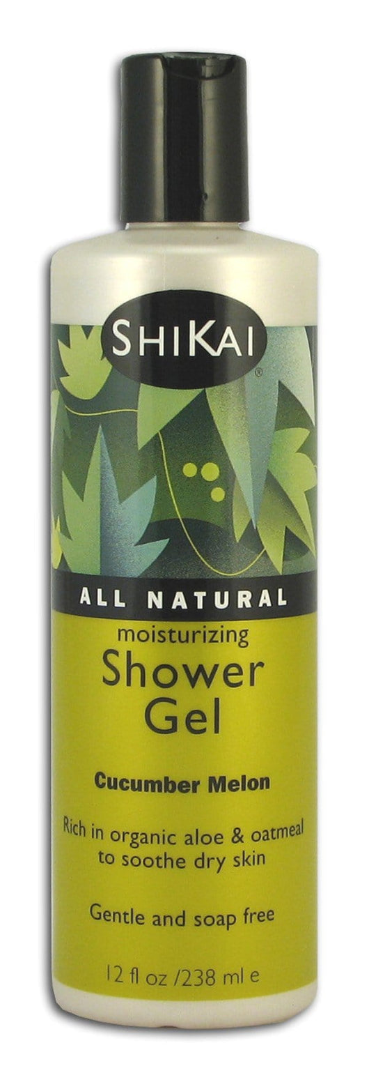 Shikai Cucumber Melon Shower Gel - 12 ozs.