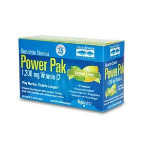 Trace Minerals Electrolyte Stamina Power Pak Lemon Lime - 32 pks.