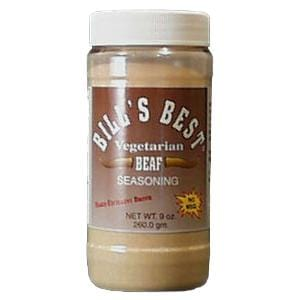 Bill's Best Vegetarian Beaf Seasoning - 12 x 9.5 ozs.