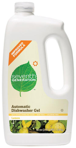 Seventh Generation Auto Dish Gel Lemon Scent - 6 x 42 ozs.