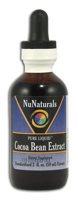 NuNaturals Cocoa Bean Extract - 2 ozs.