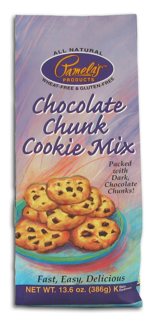 Pamela's Chocolate Chunk Cookie Mix - 6 x 13.6 ozs.
