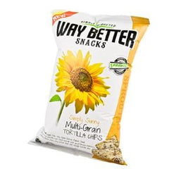Way Better Snacks Tortilla Chips, Sprouted, Sunny Multi Grain - 12 x 5.5 oz