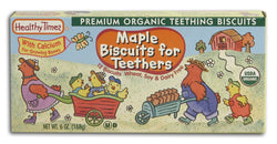 Healthy Times Maple Teeth Biscuits Organic - 6 ozs.