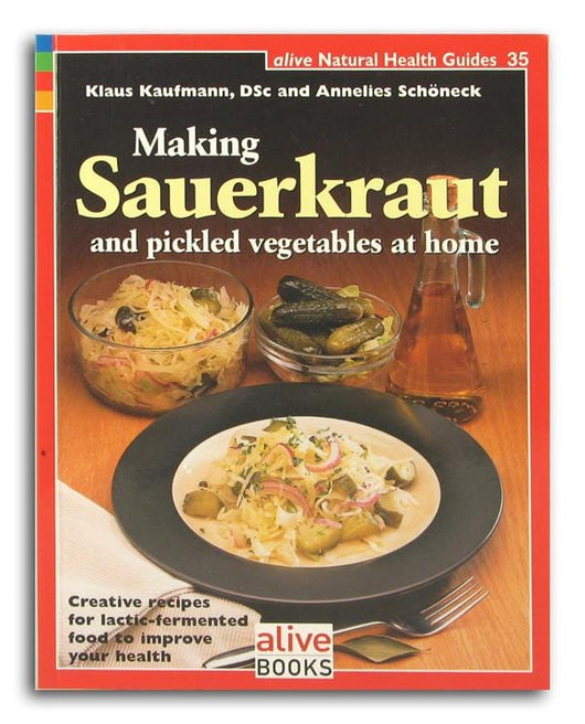 Books Making Sauerkraut Pickled Vegetables at Home - 1 book