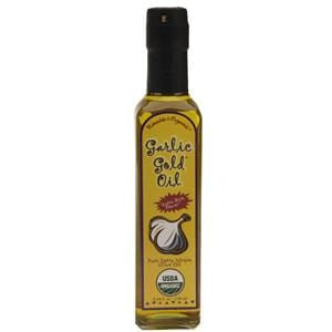 Garlic Gold Garlic Oil, Organic - 8.44 ozs.