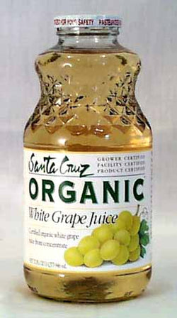 Santa Cruz White Grape Juice Organic - 32 ozs.