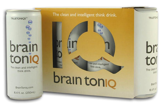 True Toniqs Brain TonIQ Think Drink - 6 x 4 pk.
