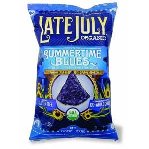 Late July Multigrain Snack Chips, Cure for the Summertime Blues, Organic - 5.5 ozs.
