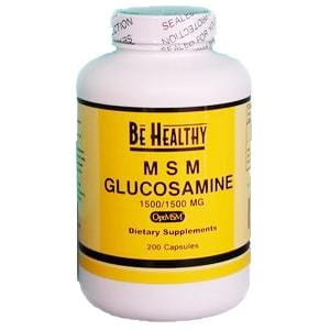 Be Healthy MSM Glucosamine - 200 caps