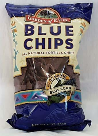 Garden of Eatin' Blue Corn Tortilla Chips Salted - 3 x 8.1 ozs.