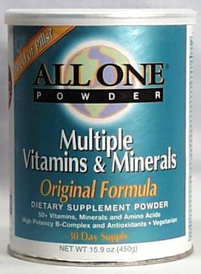 All-One Original Vitamin-Mineral Powder - 15.9 ozs.