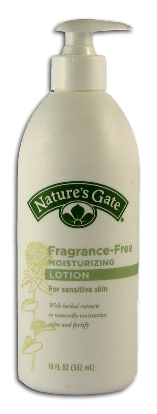 Nature's Gate Fragrance-Free Moisturizing Lotion for Sensitive Skin - 18 ozs.
