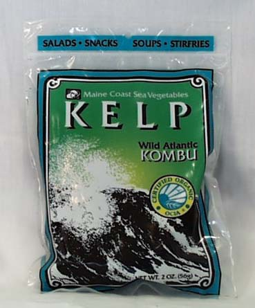 Maine Coast Kelp/Kombu - Whole Plant - 2 ozs.