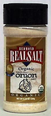 Redmond's Onion Salt Organic - 8.25 ozs.