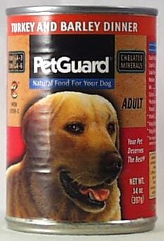 PetGuard Dog Food Turkey & Barley Dinner Adult - 13.2 ozs.