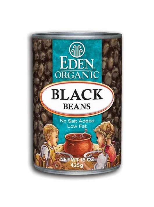 Eden Foods Black Beans Canned Organic - 12 x 15 ozs.