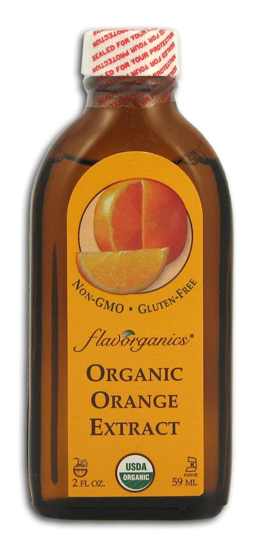 Flavorganics Extract Pure Orange Organic - 2 ozs.
