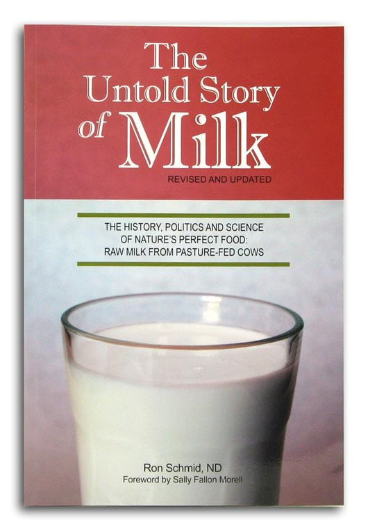 Books The Untold Story of Milk - 1 book