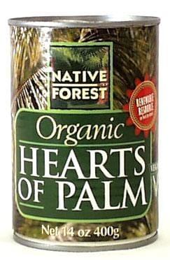 Native Forest Hearts of Palm Organic - 12 x 14 ozs.