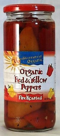 Mediterranean Organics Roasted Red & Yellow Peppers Organic - 12 x 16 ozs.